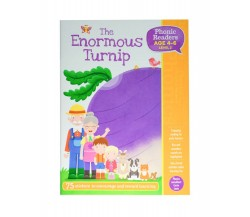 Enormous Turnip  - LV2 Phonic Readers Age 4-6