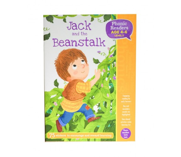 Jack and the Beanstalk - LV2 Phonic Readers Age 4-6