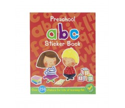 Preschool ABC Sticker Book with over 250 Stickers