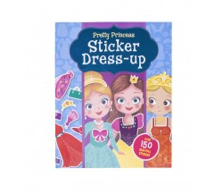 Pretty Princess Sticker Dress-up with over 150 stickers