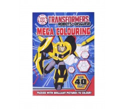 Transformers Robots in Disguise Mega Colouring