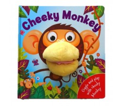 Cheeky Monkey Hand Puppet Board Book