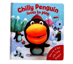Chilly Penguin Hand Puppet Board Book