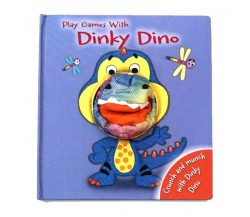 Play Games with Dinky Dino Hand Puppet Board Book