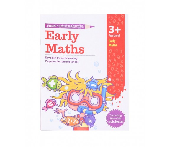 First Time Learning Early Maths 3+ Preschool