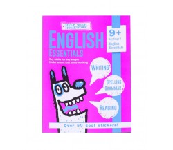 9+ English Essentials - Writing, Spelling, Grammar, Reading - With over 50 cool stickers