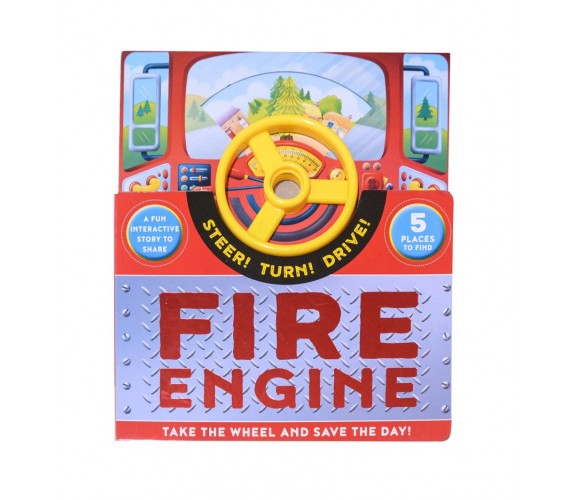 Steer! Turn! Drive! Fire Engine