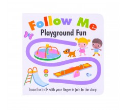 Follow Me Playground Fun - Trace the trails with your finger to join in the story