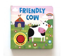 Friendly Cow Sound Board Book