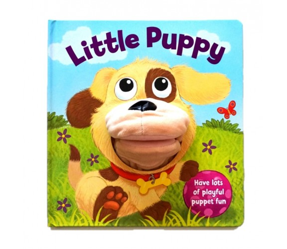 Little Puppy Hand Puppet Board Book
