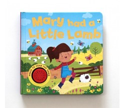 Mary Had a Little Lamb Sound Board Book