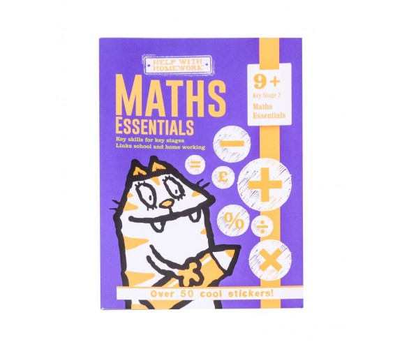 9+ Maths Essentials - With over 50 cool stickers
