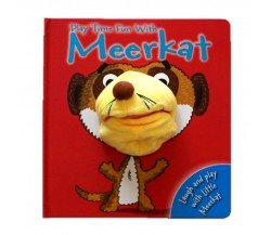 Playtime Fun with Meerkat Hand Puppet Board Book