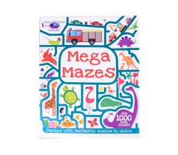 Mega Mazes - Over 1000 Super Stickers