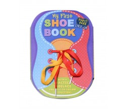 Tiny Tots Lace-up - My First Shoe Book - With a practice shoelace and easy-to-follow instructions