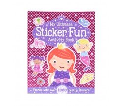My Ultimate Sticker Fun Activity Book - Packed with over 1000 pretty stickers
