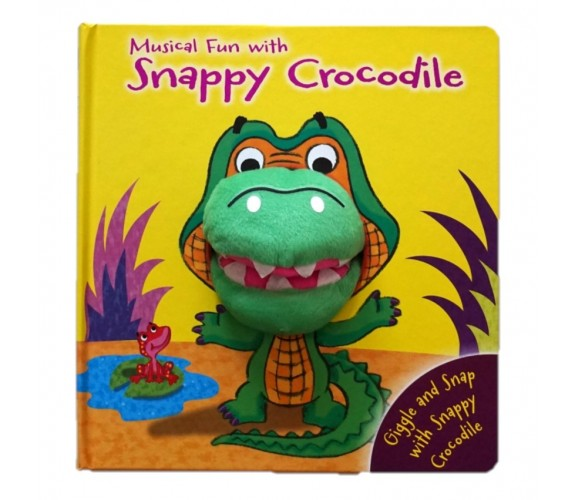 Snappy Crocodile Hand Puppet Board Book