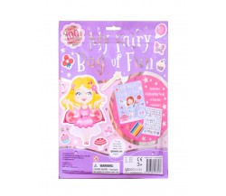 My Fairy Bag of Fun with Colouring Book, Crayons and Stickers