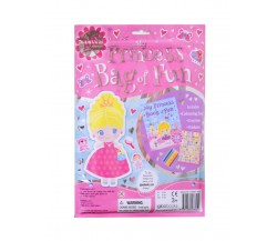 My Princess Bag of Fun with Colouring Book, Crayons and Stickers