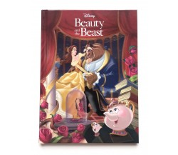 Disney Beauty and The Beast Story Book with 3D Lenticular Cover