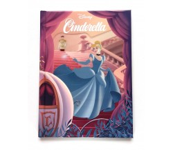 Disney Cinderella Story Book with 3D Lenticular Cover
