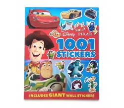 Disney Pixar 1001 Stickers Activity Book Includes GIANT Wall Sticker