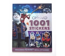 Disney Pixar Onward 1001 Stickers Activity Book Includes GIANT Wall Sticker