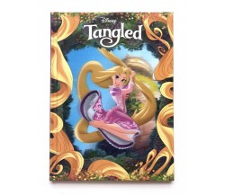 Disney Tangled Story Book with 3D Lenticular Cover