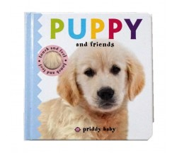 Priddy : Puppy & Friends - Touch & Feel Book