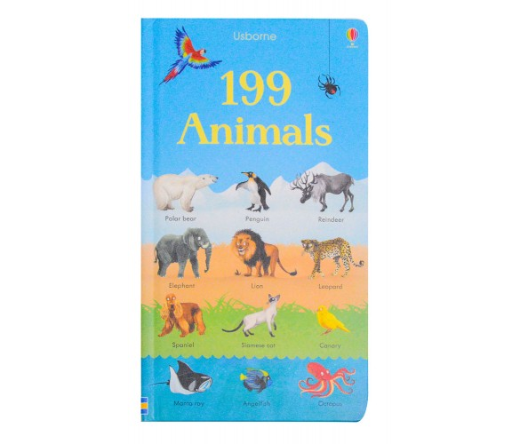 Usborne - 199 Animals board book