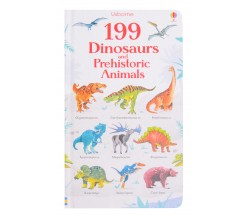 Usborne - 199 Dinosaurs and prehistoric animals board book