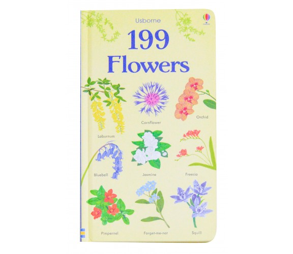 Usborne - 199 Flowers board book