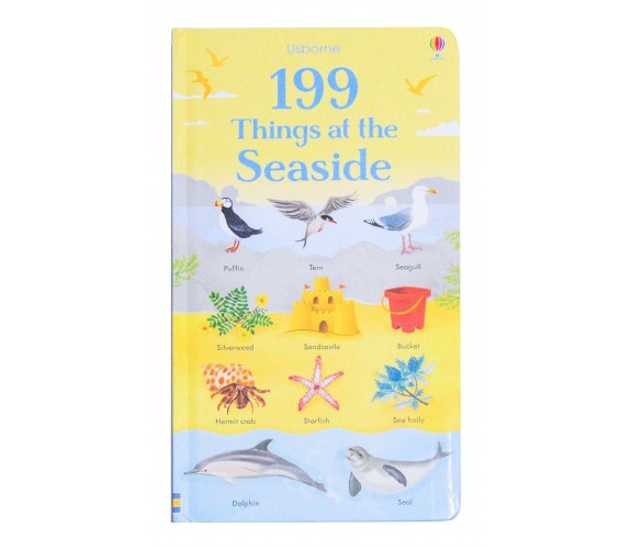 Usborne - 199 Things at the seaside board book