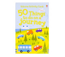 Usborne - 50 things to do on a journey cards