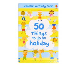 Usborne - 50 things to do on holiday cards