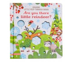 Usborne - Are you there little reindeer? - Little peep-through books