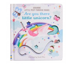 Usborne - Are you there little unicorn? - Little peep-through books