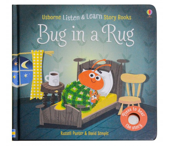 Usborne - Bug in a rug - Phonics listen and learn board book