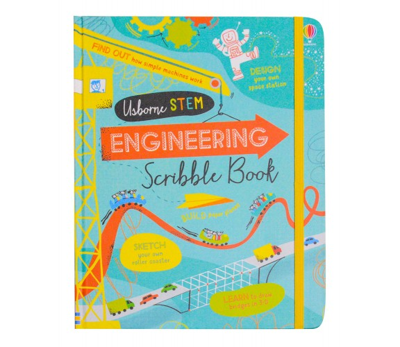Usborne - Engineering scribble book