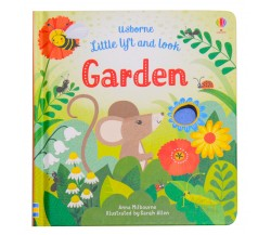 Usborne - Little lift and look garden board book