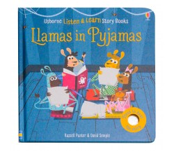 Usborne - Llamas in pyjamas - Phonics listen and learn board book