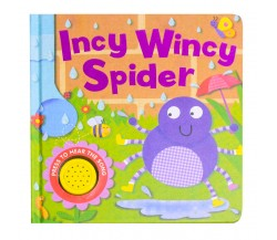 Incy Wincy Spider Sound Board Book