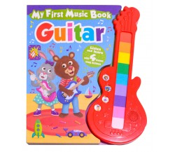GUITAR - My First Music Board Book - Listen and Learn with 4 Bonus Song Buttons
