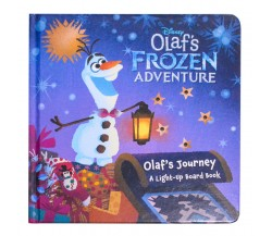 Disney Olaf's Frozen Adventure - Olaf's Journey A Light-Up Board Book