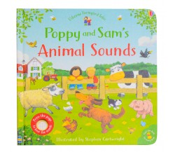 Usborne - Poppy and Sam's animal sounds board book