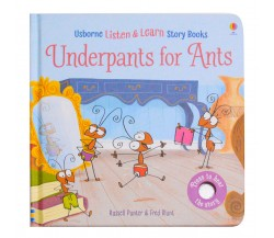 Usborne - Underpants for ants - Phonics listen and learn board book