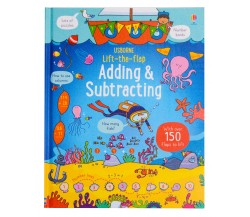 Usborne - Lift-the-flap adding and subtracting