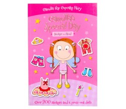 Camilla the Cupcake Fairy Sticker and Read Dolly Dress Up