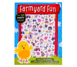 Farmyard Fun Puffy Sticker Activity Book