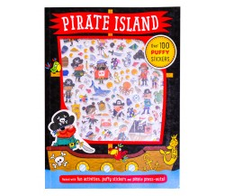 Pirate Island Puffy Sticker Activity Book